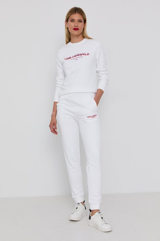 Karl Lagerfeld - Mikina biela
