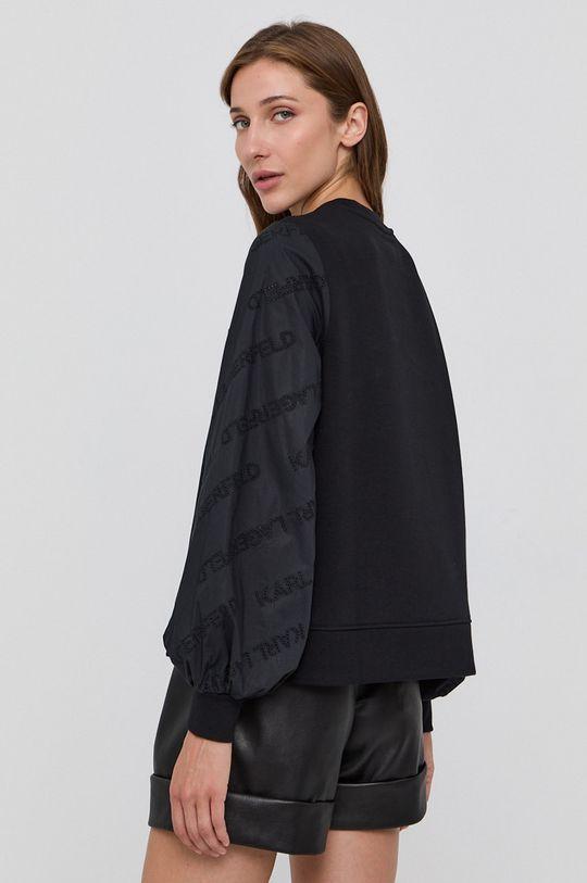 Karl Lagerfeld - Mikina  Základná látka: 89% Bavlna, 11% Polyester Iné látky: 100% Bavlna