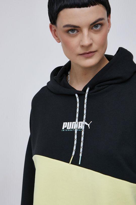 negru Puma - Hanorac de bumbac