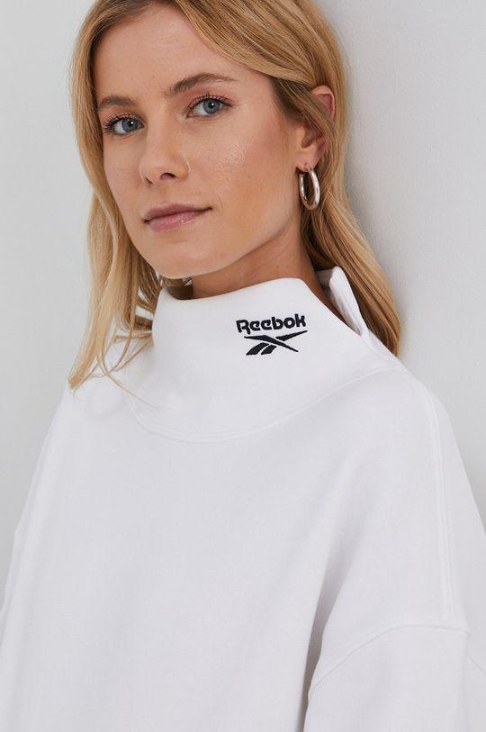 biały Reebok Classic - Bluza