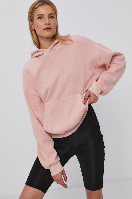 pastelově růžová Reebok Classic - Mikina