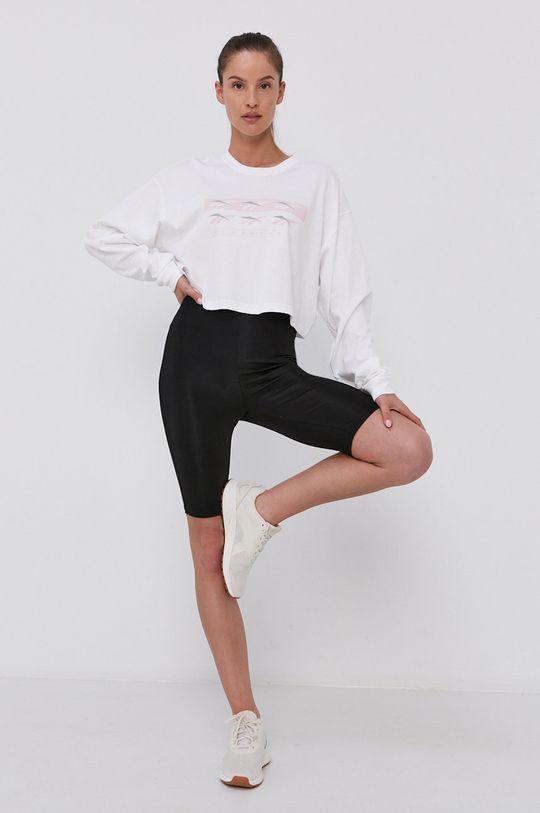 bílá Reebok Classic - Tričko s dlouhým rukávem Dámský