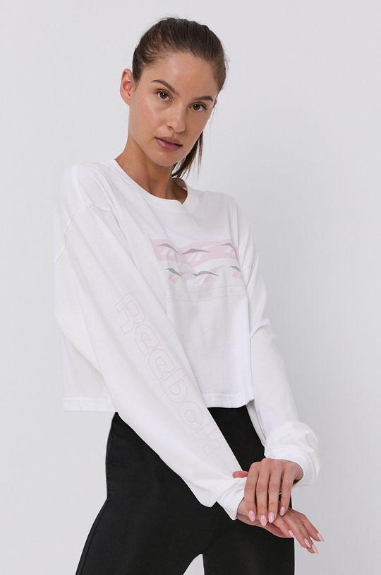 Reebok Classic - Tričko s dlouhým rukávem bílá