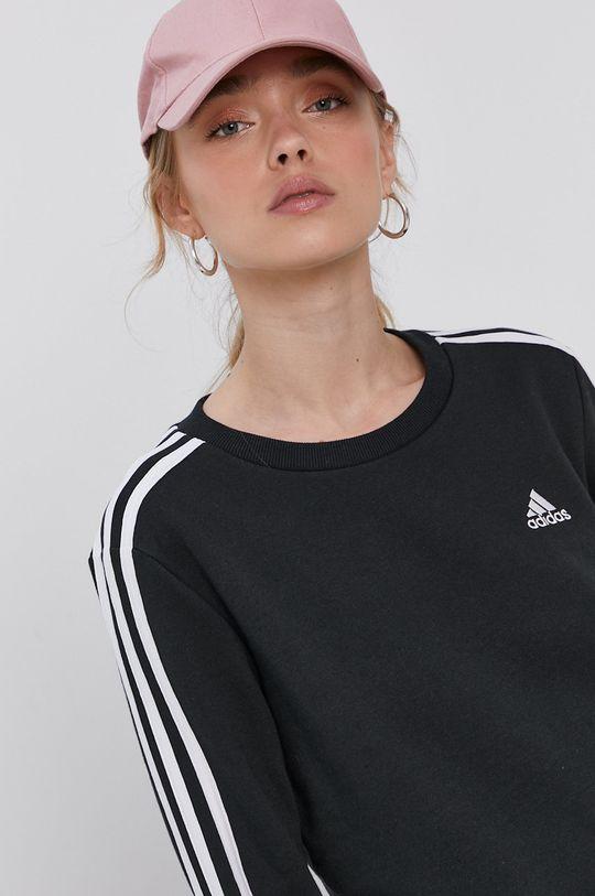 černá adidas - Mikina