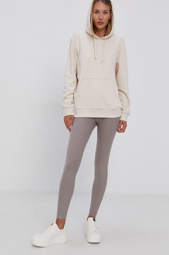 adidas Originals - Bavlnená mikina krémová