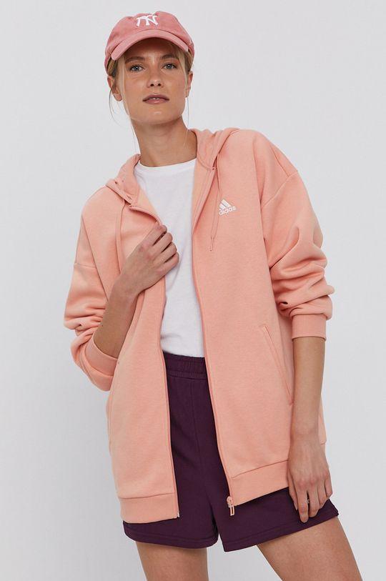pomarańczowy adidas - Bluza
