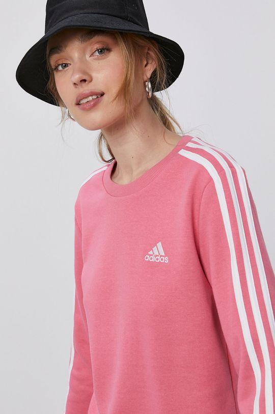 růžová adidas - Mikina Dámský