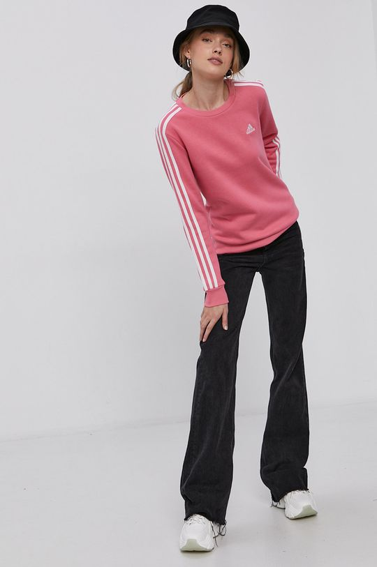 adidas - Mikina růžová
