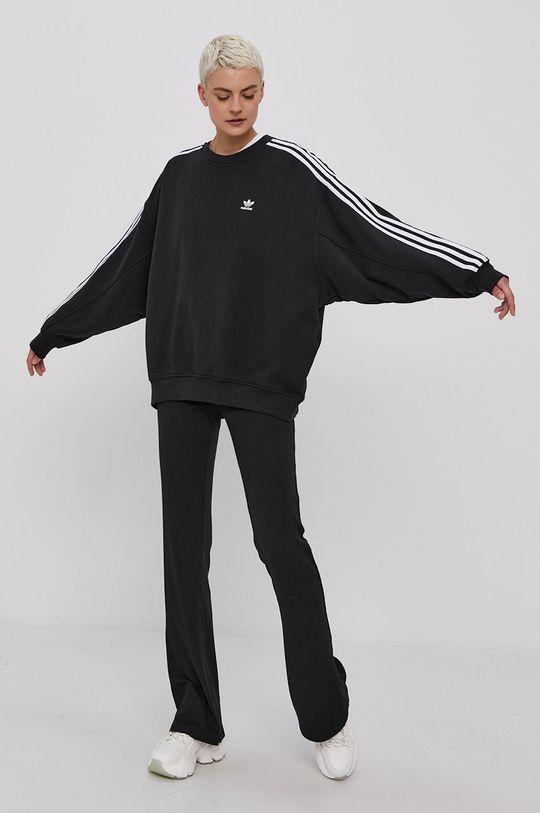 adidas Originals - Bavlnená mikina čierna