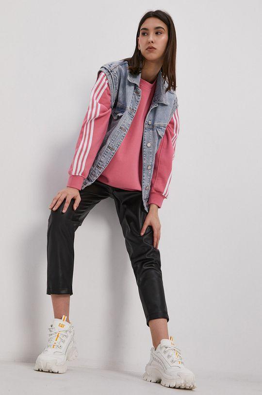 adidas Originals - Bluza bawełniana różowy