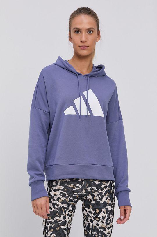 winogronowy adidas Performance - Bluza
