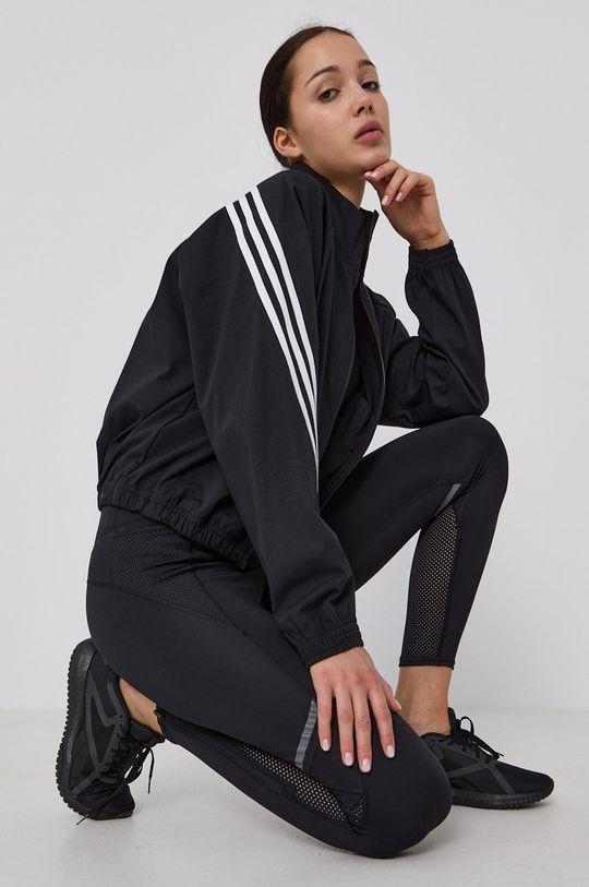 černá adidas Performance - Bunda Dámský