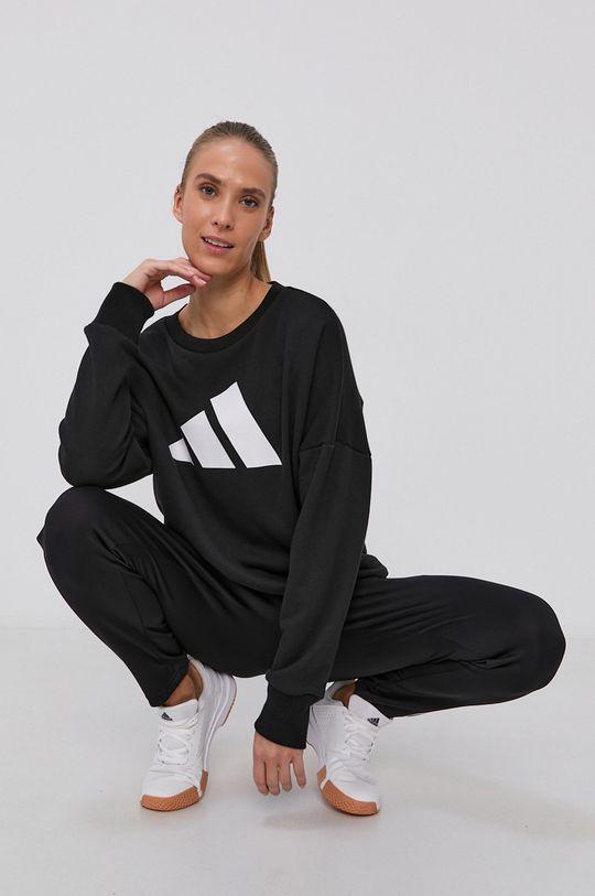 czarny adidas Performance - Bluza Damski