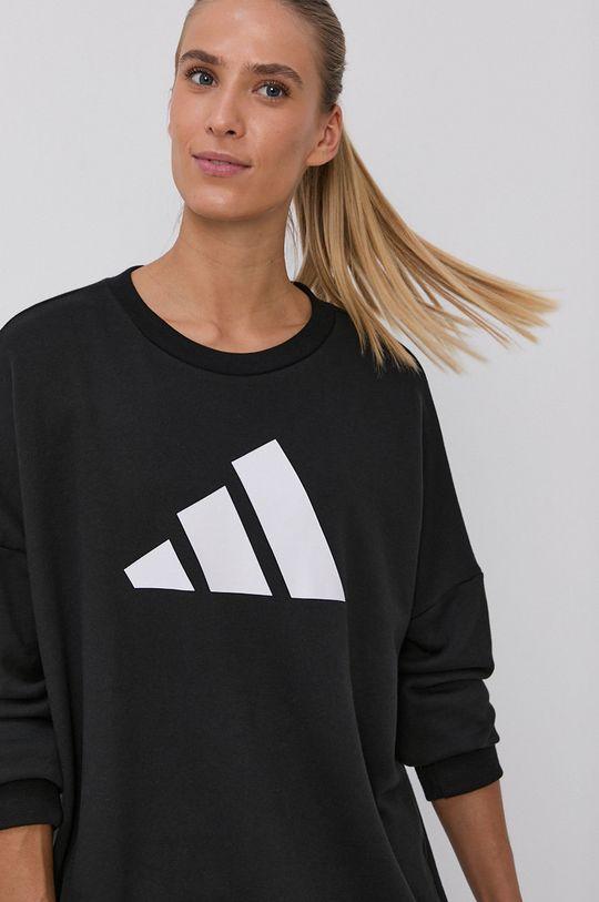 czarny adidas Performance - Bluza