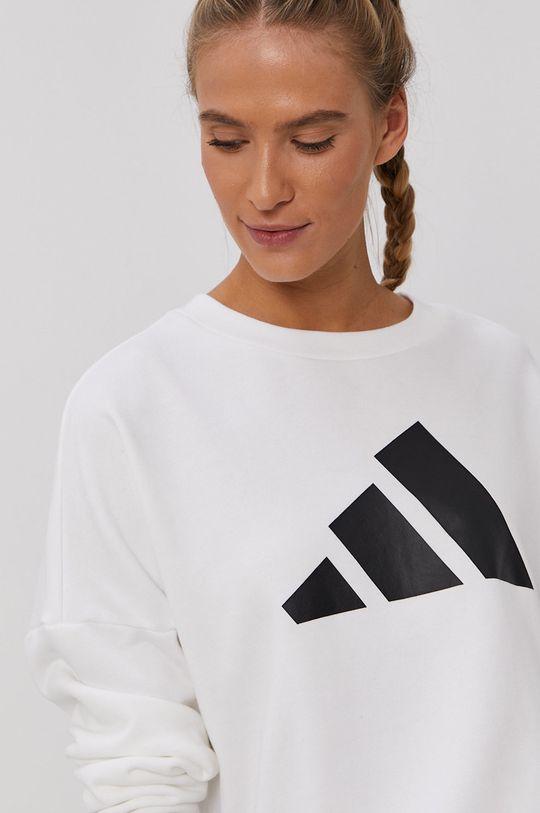 biały adidas Performance - Bluza