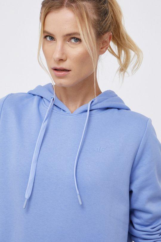 niebieski 4F - Bluza