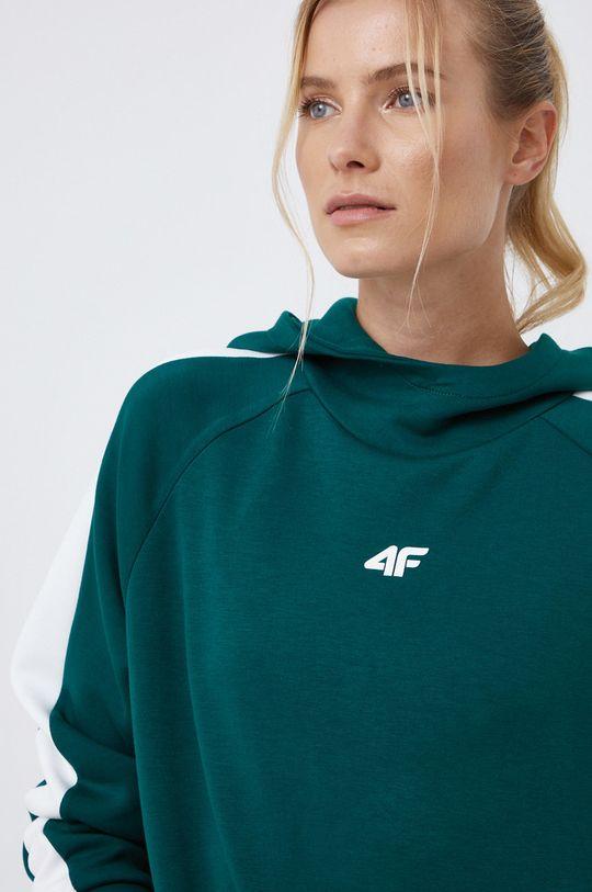 ciemny zielony 4F - Bluza