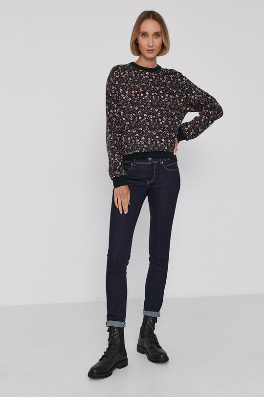 Pepe Jeans - Bluza bawełniana Precious multicolor