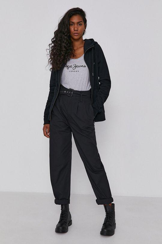 Pepe Jeans - Bluza Anette czarny