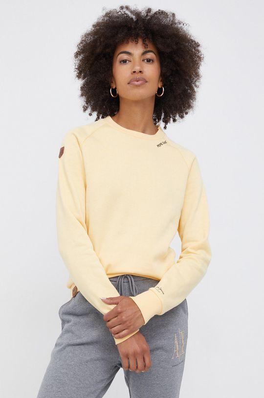 jasny żółty Pepe Jeans - Bluza Priscila Damski