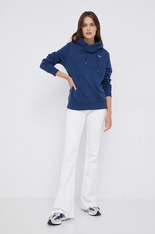 Pepe Jeans - Bluza Alicia niebieski