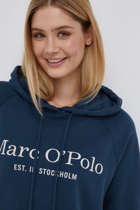 stalowy niebieski Marc O'Polo - Bluza bawełniana