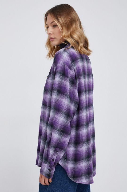 purpurowy Wrangler - Koszula bawełniana