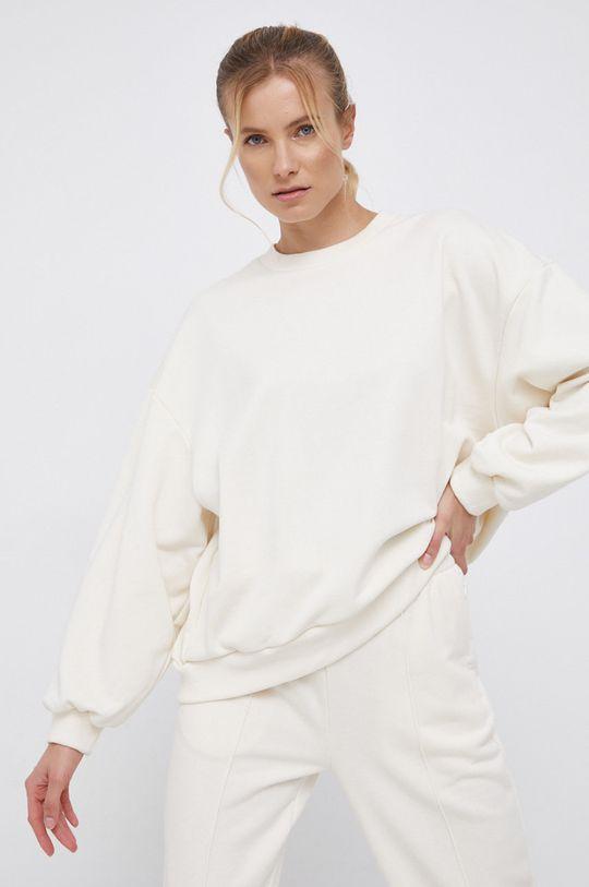 kremowy adidas Performance - Bluza x Karlie Kloss Damski