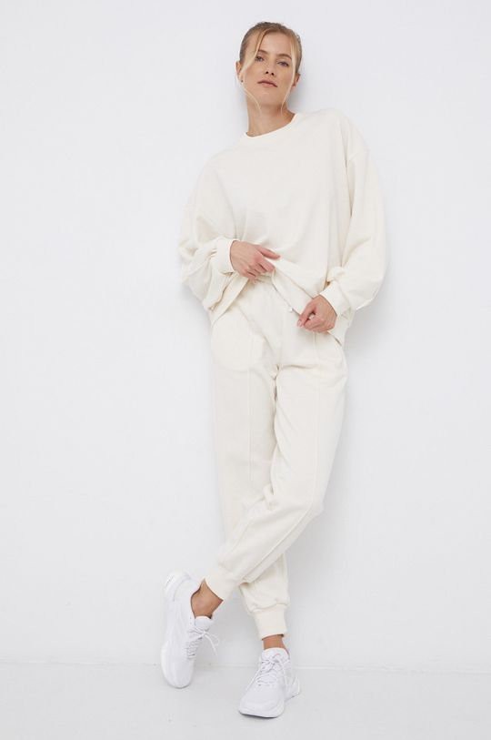 adidas Performance - Bluza x Karlie Kloss kremowy