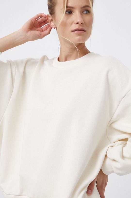 kremowy adidas Performance - Bluza x Karlie Kloss