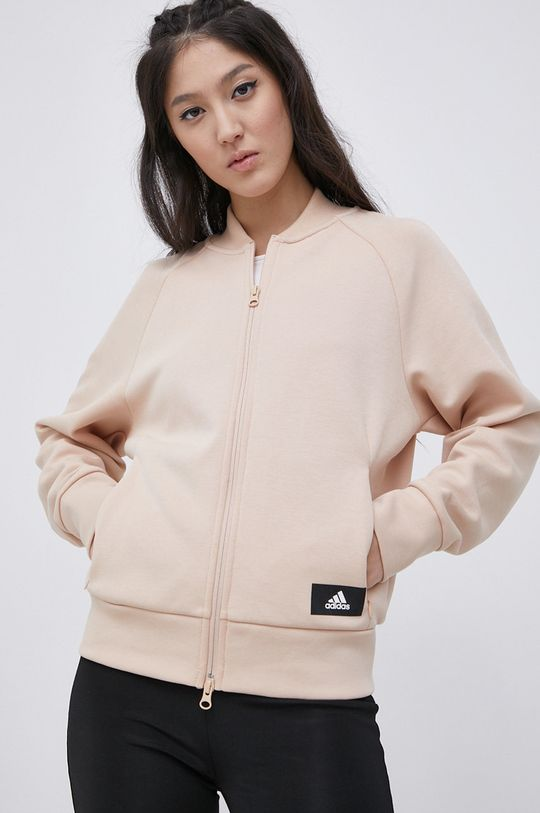 adidas Performance - Bluza pastelowy różowy
