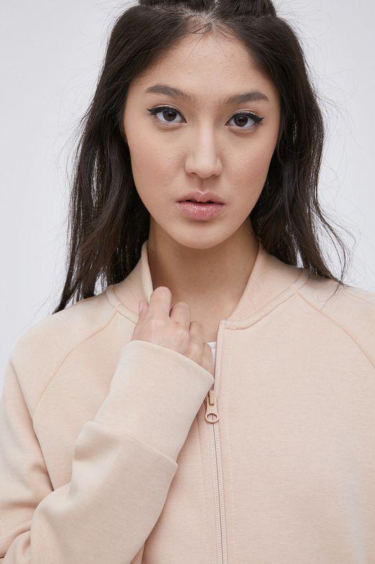pastelowy różowy adidas Performance - Bluza