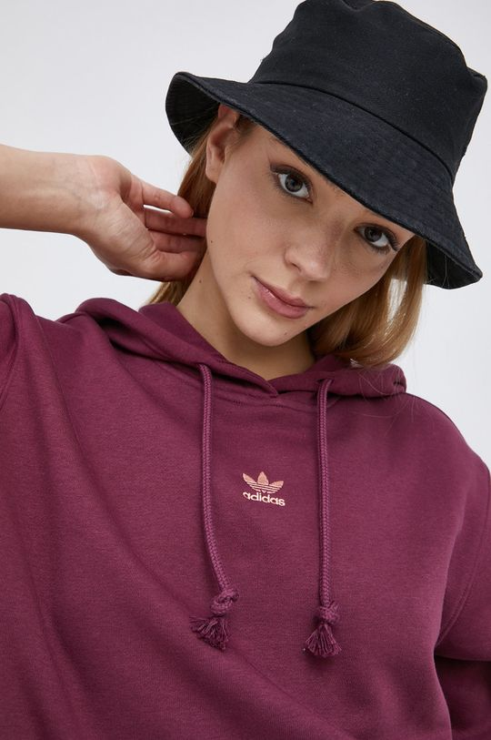 tmavě fialová adidas Originals - Mikina