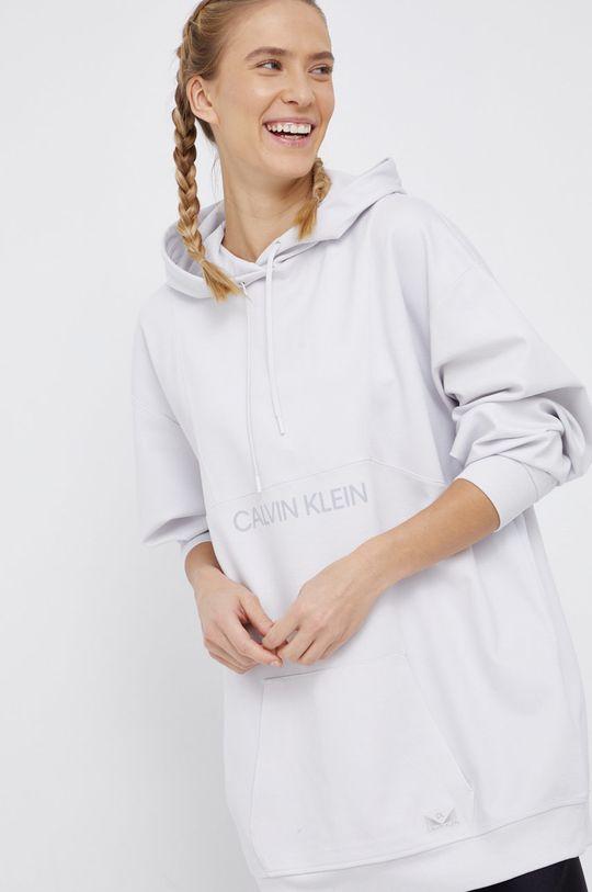 Calvin Klein Performance - Bluza jasny szary