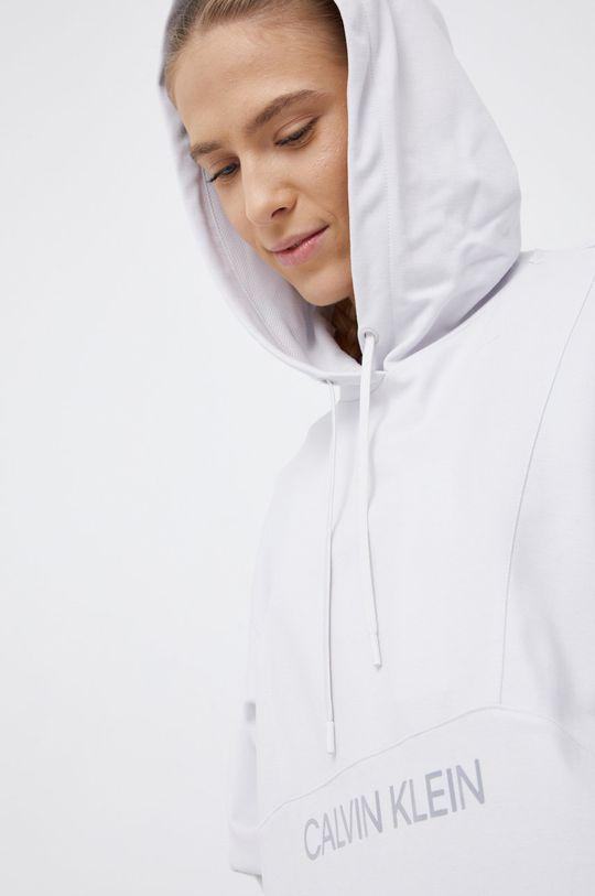 jasny szary Calvin Klein Performance - Bluza