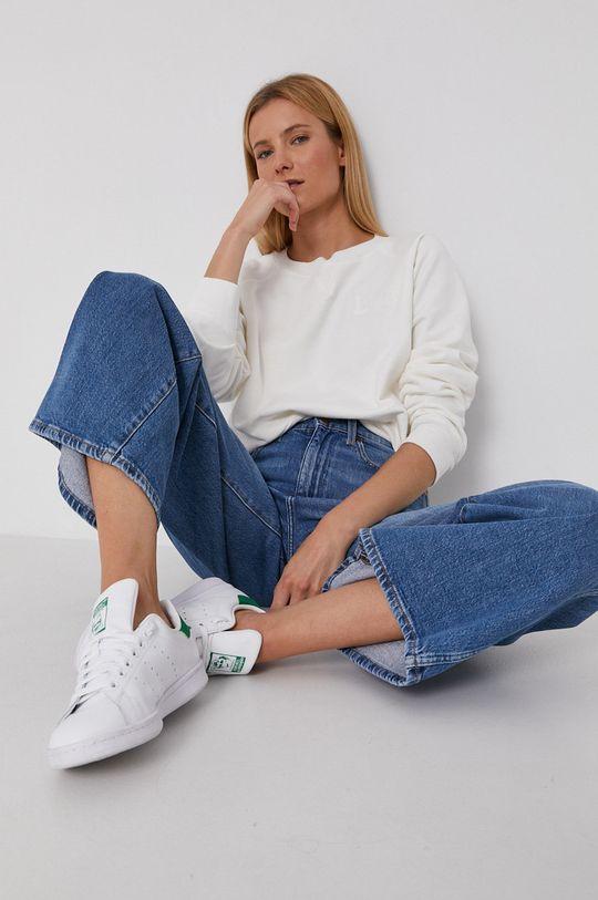 biały Lee - Bluza bawełniana Damski