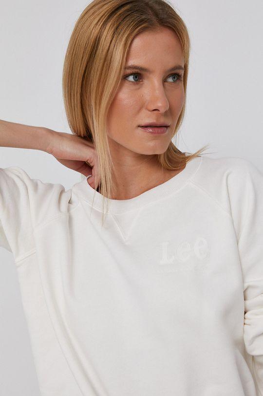 biały Lee - Bluza bawełniana