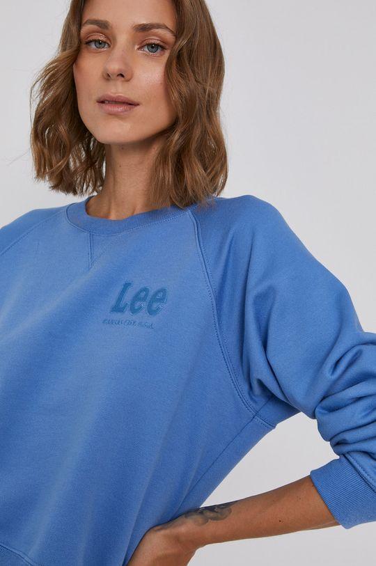 niebieski Lee - Bluza bawełniana