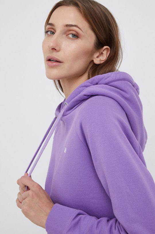 fioletowy Lee - Bluza bawełniana