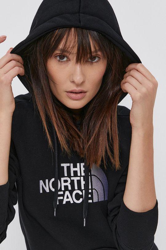 czarny The North Face - Bluza bawełniana Damski