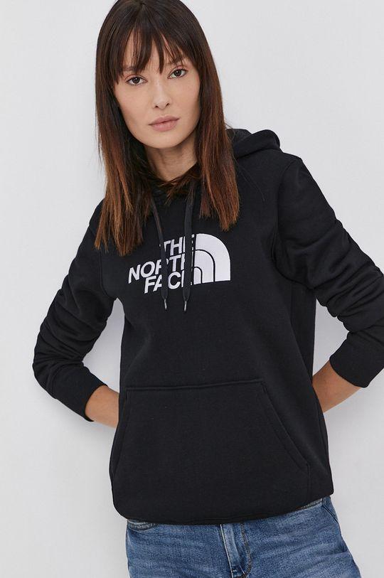 czarny The North Face - Bluza bawełniana