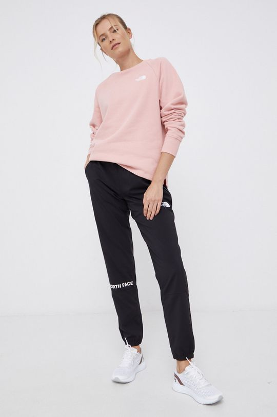 The North Face - Bluza bawełniana różowy