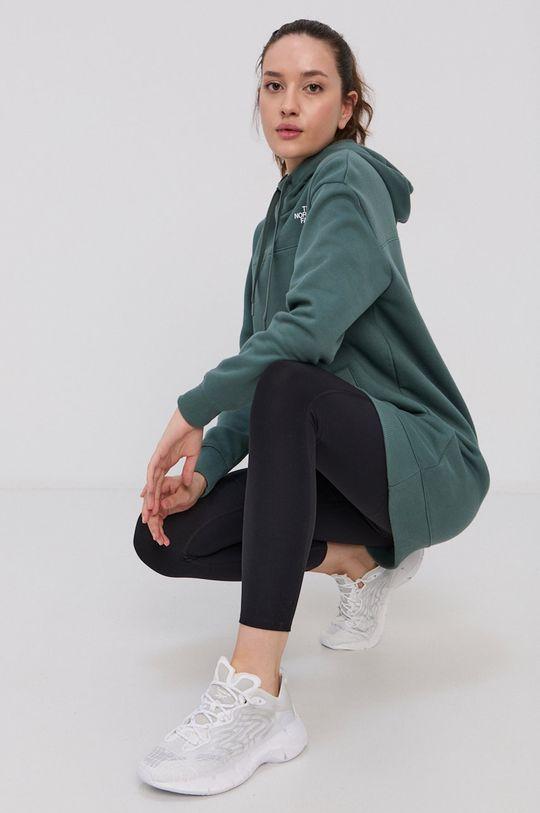 verde murdar The North Face - Hanorac de bumbac De femei