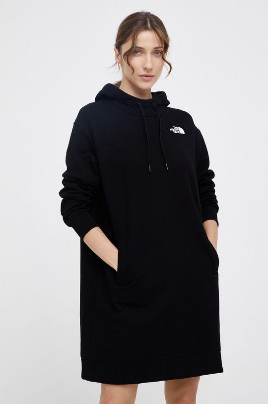The North Face - Bluza bawełniana czarny