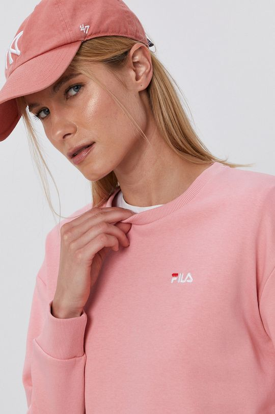 różowy Fila - Bluza