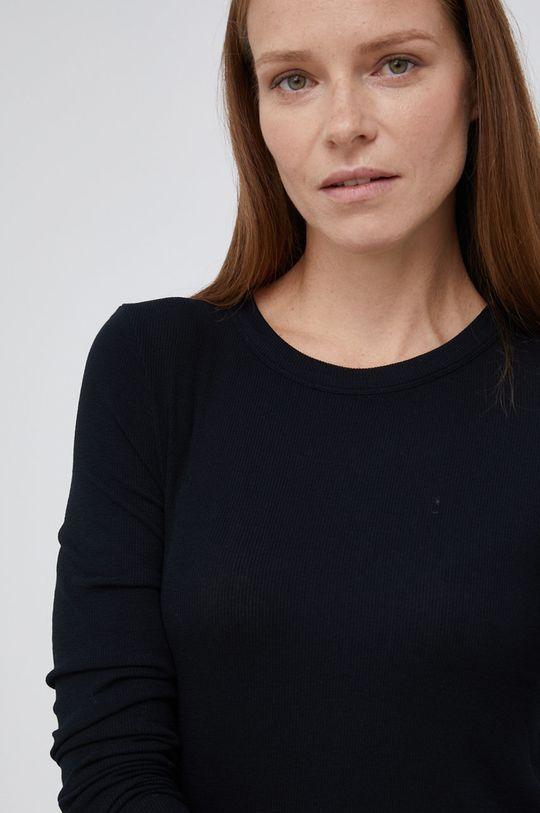 černá Drykorn - Tričko s dlouhým rukávem Bajari Dámský
