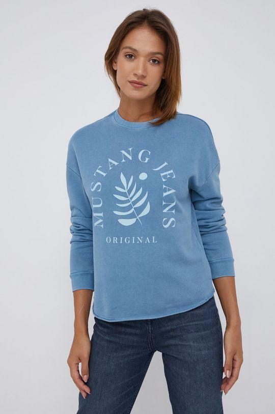 fioletowy Mustang - Bluza bawełniana Damski