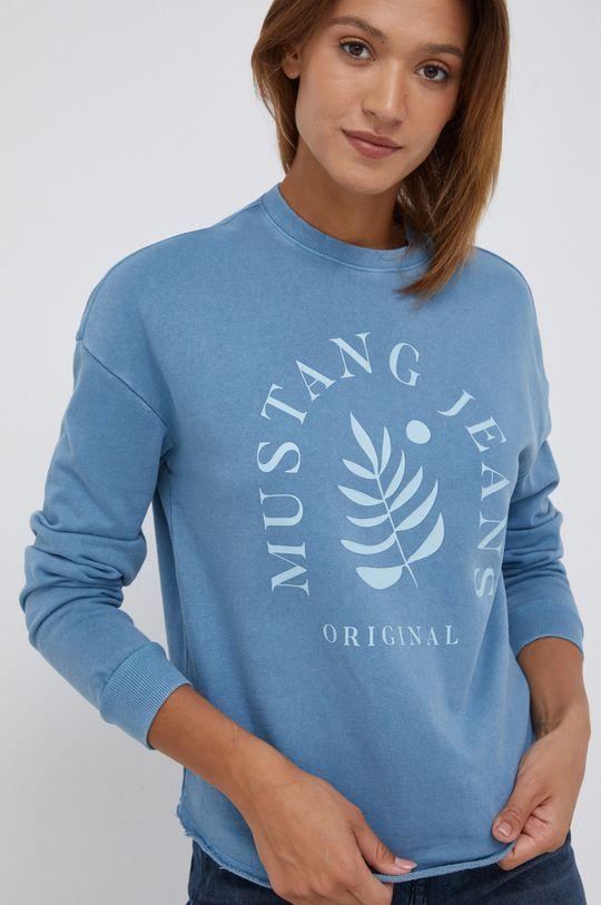 fioletowy Mustang - Bluza bawełniana