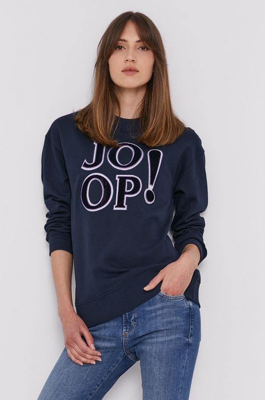 granatowy Joop! - Bluza bawełniana Damski