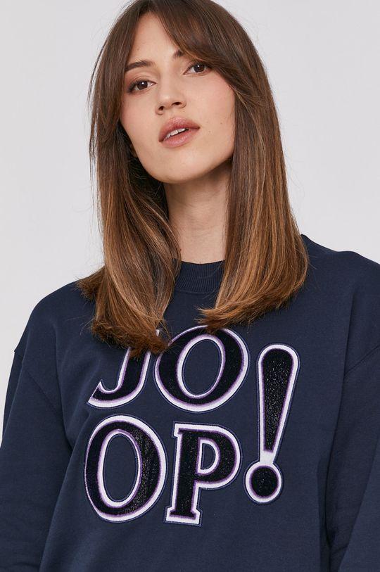 granatowy Joop! - Bluza bawełniana